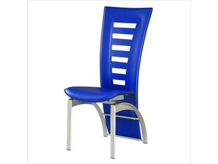 Global Furniture USA 290DCBLU Modern  Dining Room Chair