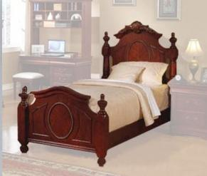 Acme Furniture 1187XX Classique Bed in Cherry, X Size