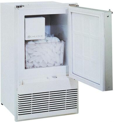 U-Line WH95TP20 MARINE/RV Series Built In Ice Maker with 23 lb. Daily Ice Production, 12 lb. Ice Storage, in White