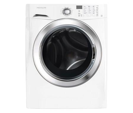 Frigidaire FFFS5115 3.9 cu. ft. Front Load Washer with Ready Steam, Tumble Action Cleaning System, Vibration Control System, Advance Rinse Technology, Ready-Select Controls, TimeWise Technology & SilentDesign in
