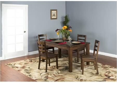 Sunny Designs 1170ACDT4C Savannah Dining Room Sets