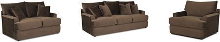 Klaussner K56830KL3PCSTLARMKIT1 Findley Living Room Sets
