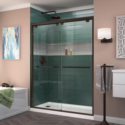 Encore Shower Door RS50 06 B LeftDrain