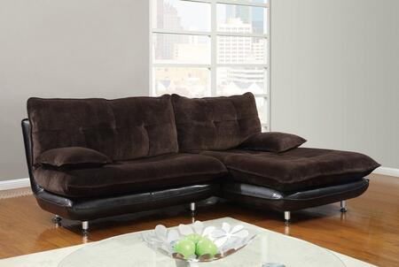 Global Furniture USA U3613SEC  Fabric Sofa