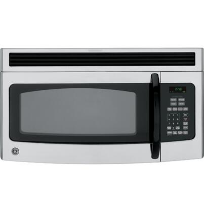 GE JVM1540LMCS 1.5 cu. ft. Capacity Over the Range Microwave Oven