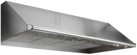 "Dacor Renaissance EHxx18SCH Wall Mount Canopy Range Hood with Internal Blower, 4 Speed Control, Blue LED Indicator, Auto-Start and 18"" Height in Stainless Steel"