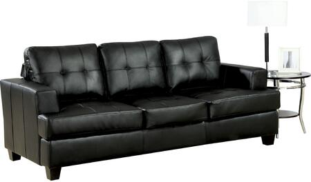 Acme Furniture Platinum Series Chair Sleeper Bonded Leather