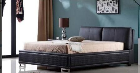 Diamond Sofa BLVDBEDQB Blvd Series  Queen Size Bed
