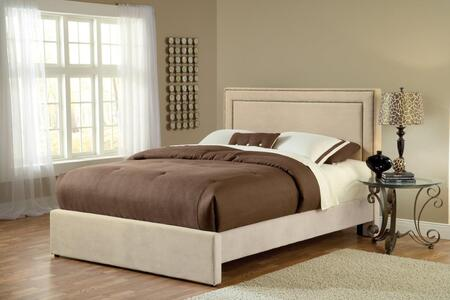 Hillsdale Furniture 1566BCKRA Amber Series  California King Size Panel Bed
