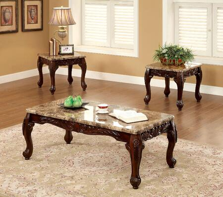 Furniture of America CM44873PK Traditional Living Room Table Set ...