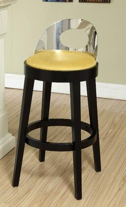 Armen Living LC4046BAYE30 Residential Polyester Upholstered Bar Stool