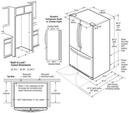 Frigidaire Gallery Dimensions Guide