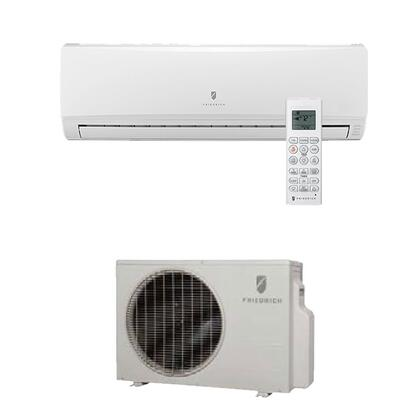 Friedrich MCJ Energy Star Qualified, Single Zone, Wall-Mounted, Cool Only, Ductless Split System with Inverter Technology, x,000 BTU Cooling Capacity, x SEER, x EER and R410A Refigerant
