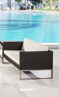 Global Furniture USA S933L  Patio Love Seat