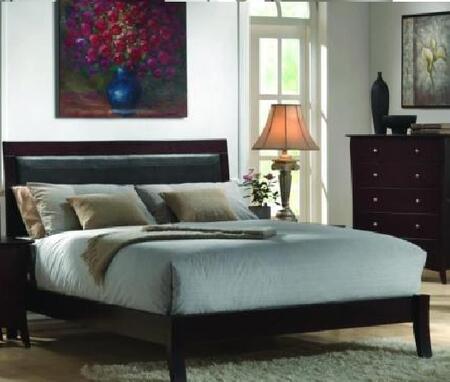 Donco AB006EK  King Size Platform Bed
