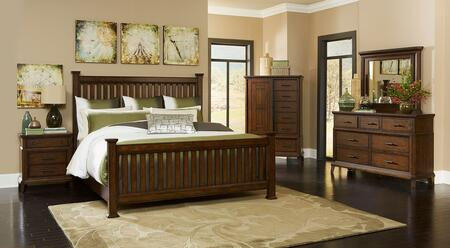 Broyhill 4364QPOSTERNDM Estes Park Queen Bedroom Sets