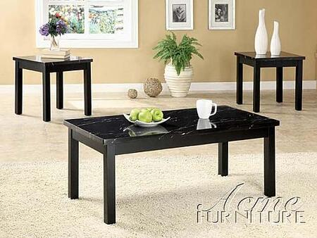 "Acme Furniture 16784B 42"" Transitional Living Room Table Set"