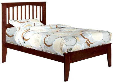 Furniture of America CM7908CHTBED Pine Brook Series  Twin Size Bed
