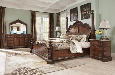 Milo Italia BR790KPSBDMN Mcgrath King Bedroom Sets