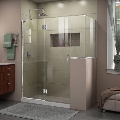 DreamLine Unidoor X Shower Enclosure 24HP 24D 12BP 30RP 01