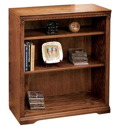 Legends Furniture SD6836RST Scottsdale Series Wood 2 Shelves Bookcase