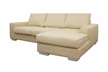 Wholesale Interiors TD9811BA5381A3PCCHAISE Campbell Series  Sofa