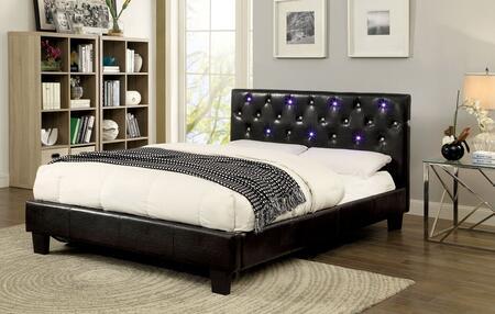 Furniture of America CM7431CKBED Azaleh Series  California King Size Platform Bed