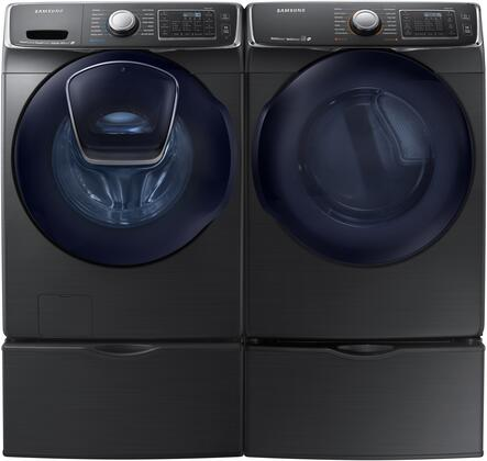 Samsung 691591 Black Stainless Steel Washer and Dryer Combos