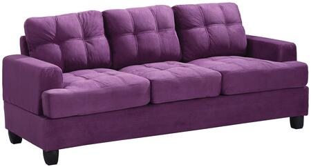 Glory Furniture G517AS  Stationary Suede Sofa