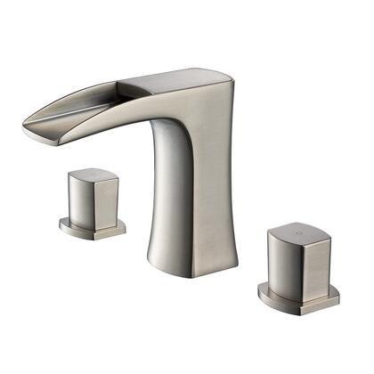 Fresca FFT3076 Fortore Widespread Mount Bathroom Vanity Faucet
