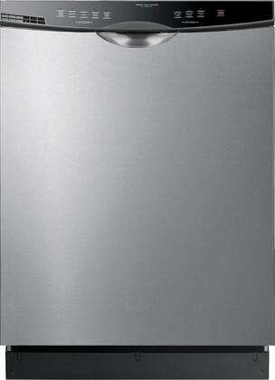 "Haier DWL2825SDSS 24"" White Energy Star Series Built-In Full Console Dishwasher"