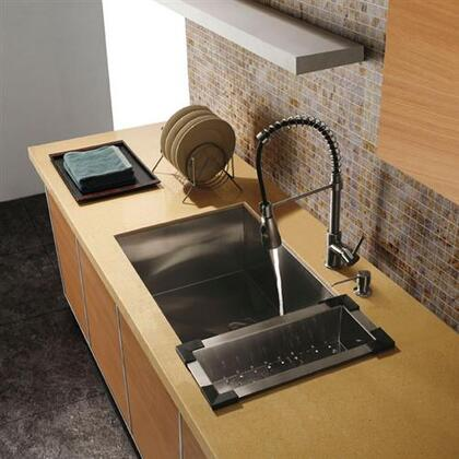 Vigo VG3219C Stainless Steel Kitchen Sink