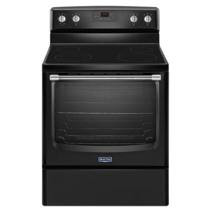 Maytag MER8600DE  Electric Freestanding Range with Smoothtop Cooktop, 6.2 cu. ft. Primary Oven Capacity, Storage in Black