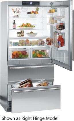 liebherr cs2061 36 inch stainless steel counter depth bottom freezer rh appliancesconnection com