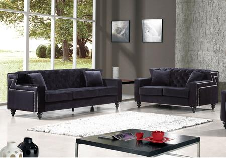 Meridian 6162PCSTLKIT3 Harley Living Room Sets