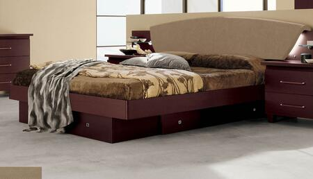 ESF Miss Italia i10996i11000 Bed with Drawers in Brown