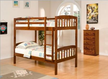 Donco 0102ETT8  Twin Size Bunk Bed
