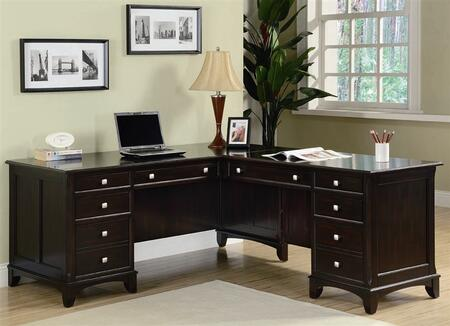 Coaster 801011L Traditional Office Desk