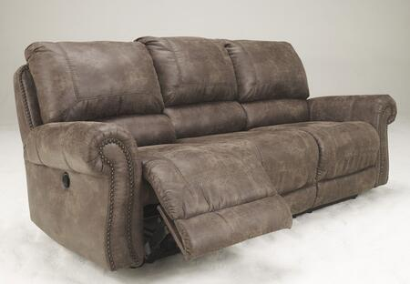 Signature Design By Ashley 7410088 Oberson Series Reclining Faux