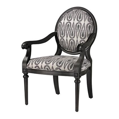 Sterling 139002 Ventnor Series Armchair Fabric Wood Frame Accent Chair