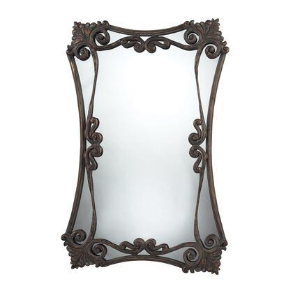 Sterling 11404 Iron Bridge Series Rectangular Both Wall Mirror