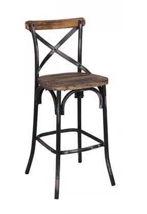 Acme Furniture 96640 Zaire Series Residential Not Upholstered Bar Stool