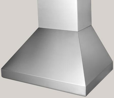 "BlueStar Hampton BSHAMPI48 48"" Island Range Hood with 3 Speed Fan, Stainless Steel Baffle Filters and Halogen Lamps, in"