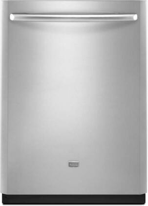 Maytag MDB8859AWS JetClean Plus Series Built-In Fully Integrated Dishwasher with in Stainless Steel