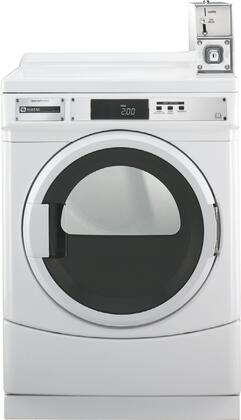 Maytag Commercial MDE25PDAZW  6.7 cu. ft. Electric Dryer, in White