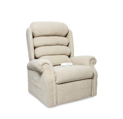 """Mega Motion Stellar NM1950-EXX-A11 35"""" Power Recliner Lift Chair with 3 Position Mechanism, Single Motor and Sinuous Spring and Foam Seat in"""