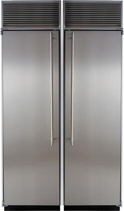 Marvel M48CFRWS Side-By-Side Refrigerators
