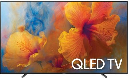 Samsung QNx5Q9FAMFXZA Q9F QLED 4K Flat TV with Quantum Dots, 4K Ultra HD Resolution, 240 Motion Rate, OneRemote, and Smart Hub, in Black