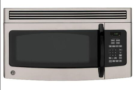 GE JNM1541MPSA 1.5 cu. ft. Capacity Over the Range Microwave Oven