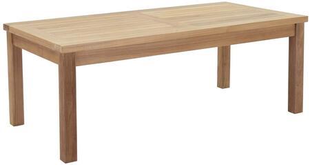 "Modway EEI1154NAT 23.5"" Modern Coffee Table"